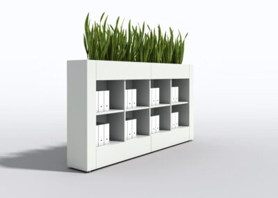 Bookcase, Planter & Locker Storage  10