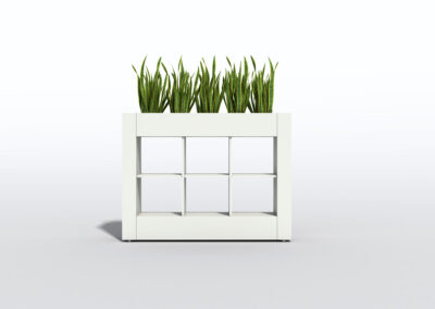 Bookcase, Planter & Locker Storage 13
