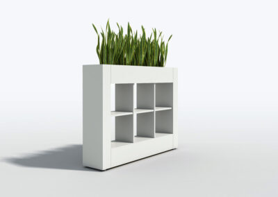 Bookcase, Planter & Locker Storage 14
